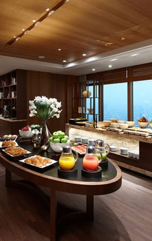 Start your day with fresh and health breakfast at Executive Lounge! #23rd floor, Seoul Shilla Hotel