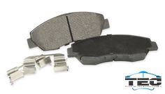 CERAMIC BRAKE PADS: Especially designed to reduce noise, vibration and premature wear of the pads, while offering stability in most intense driving conditions.