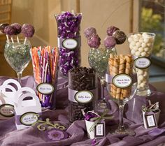 candy buffet pictures - Google Search