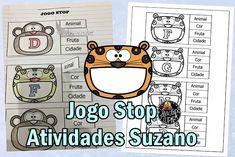 Jogo Stop EM PDF | Atividades Pedagogica Suzano