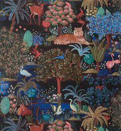 Wallpapers FP636001 Le jardin du palais | Pierre Frey