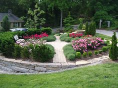 Great circular plant bed