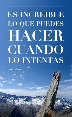 En esta vida se pierde más por miedo que por intentar, solo pierdes… cuando dejas de intentar http://ift.tt/1TYLeby