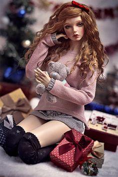 wonderful-dolls:  Merry Christmas! by Amadiz on Flickr.