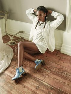 Angolan/Portuguese Model Sharam Diniz for Vogue Italia Accessory February 2014 issue Tap Shoes, Dance Shoes, Model Agency, Editorial Fashion, Vogue, Accessories, Portuguese, Tops, February