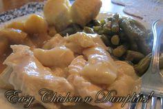 Easy Chicken n Dumplins!