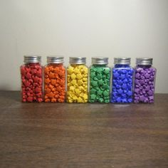 origami rainbow stars