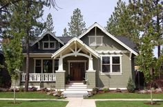 Like the facade and porch.