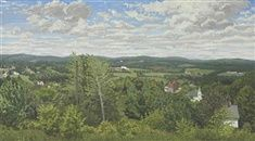 Thorndike, Maine by Rackstraw Downes