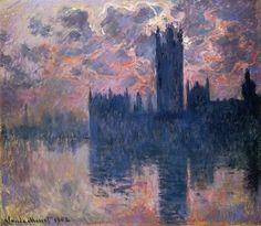 (via All sizes | 16031900-01 Claude Monet Il Parlamento(collezione privata) | Flickr - Photo Sharing!)