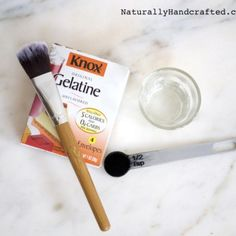 All Natural Charcoal Blackhead Mask Made with 2 Ingredients
