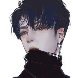 Garçon Anime Hot, Dark Anime Guys, Cool Anime Guys, Handsome Anime Guys, Cute Anime Boy, Kawaii Anime Girl, Anime Art Girl, Manga Art, Handsome Man