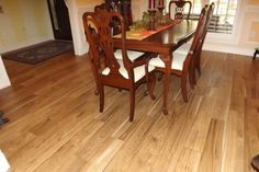 Buy HoneyOak Solid Wood Flooring online at www.brandfloors.com Solid Wood Flooring, Best Flooring, Dining Chairs, Dining Table, Floor Covering, Furniture, Youtube, Home Decor, Decoration Home