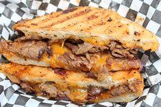Mad Maui BBQ Food Truck Texas Beef Brisket Melt Sandwich