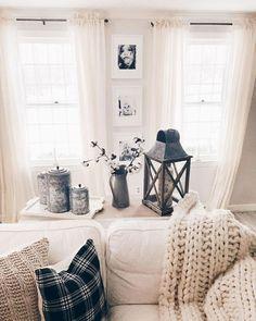 Best rustic farmhouse living room decor ideas (13)