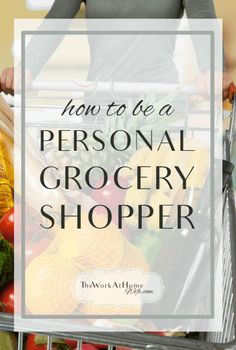 There are so many people that hire personal grocery shoppers. The elderly, ill and even busy parents and professionals enjoy home delivery.