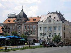 Square in Novi Sad - Novi Sad, Vojvodina