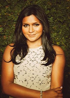 Mindy Kaling is so pretty and I love her!!