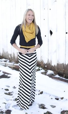 Winter Maxi Style. - Click image to find more fashion posts