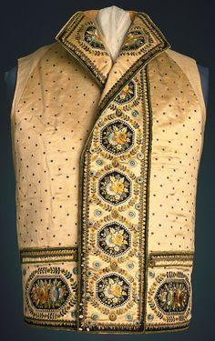 Waistcoat, ca. 1790