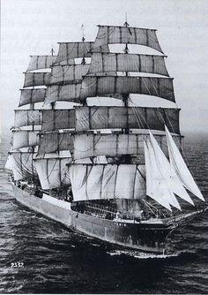 Four Masted Barque Pamir