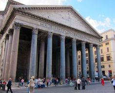 April 21...Rome's birthday celebration at the Pantheon. When in Rome...