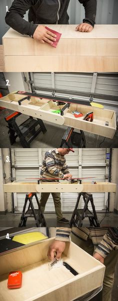 DIY: How to Build a Portable Ski or Snowboard Waxing Table - REI Co-op Journal