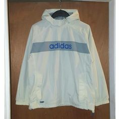 Vintage Mens Adidas Pullover Windbreaker, check out our depop shop