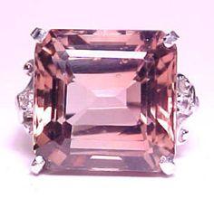 Pink tourmaline ring ✿⊱╮