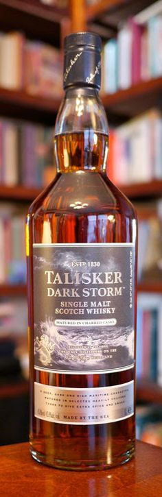 The Talisker Dark Storm Islay Single Malt Scotch Whisky