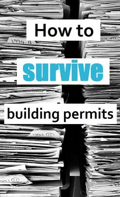 How to build your own house, surviving building permits. What I wish I knew, How much they cost, how long they take