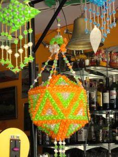 I-nomad: New Thai handicraft: Drinking straw art