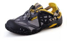 Septee Men's Upstream shoes hiking slip resistant breathable lightweight shoes ** See this great product.