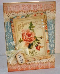 Shabby Cards by Rene