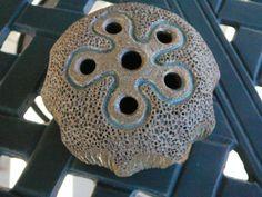 Ceramic Florist Frog/Floral Arranging/Vintage by Happiness2day, $15.99