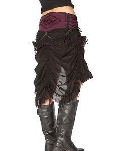 Long Bustle Skirt ~ Catalogue ~ Clothing | Sha-Creations