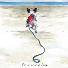 Edit description Art cards Freedom http://www.thelittledog.co.uk/