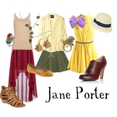Jane from Tarzan outfit ideas