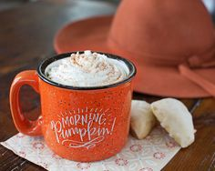 Morning, Pumpkin! Campfire Mug