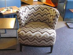 Kuka accent chair in KD-266 fabric.