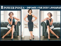 Can POWER POSES make you unstoppable at work? Learn how changing your body language changes the way others see you. Here are my POWER POSES to make you unsto. Poses For Pictures, Picture Poses, Photo Poses, Photo Shoots, Family Pictures, How To Look Confident, Confident Woman, Confident Body Language, Headshot Poses