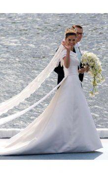 robes de mariée en Suède de la princesse Victoria