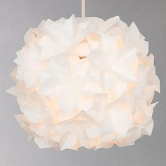 Buy John Lewis Lotus Easy-to-Fit Flower Pendant Shade Online at johnlewis.com