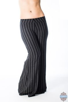 Ready to ship! High Waisted Palazzo Pants, Everything Stays, Long Torso, High Rise Pants, Gothic Fashion, Dance Wear, Wide Leg Pants, Plus Size, Bamboo