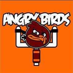 Hokies Angry Bird