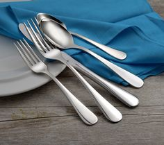 Liberty Tabletop is proud to offer beautiful flatware MADE IN THE USA. Our Annapolis pattern is an elegant and plain design perfect for everyday. Forged Knife, Stainless Steel Flatware, Flatware Set, Made In America, American Made, Beautiful Patterns, Dinnerware, Liberty, Tabletop