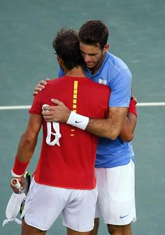 Tough match .. good luck to Juan tomorrow against Andy in the final