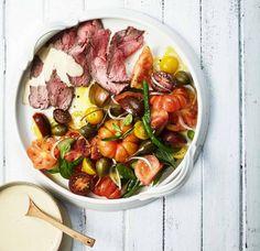Vitello-Tomaten-Salat mit Kalbstafelspitz Rezept - [ESSEN UND TRINKEN]