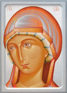 Prsv. Bogorodica Mama Mary, Russian Icons, Russian Orthodox, Byzantine Icons, Holy Mary, Russian Beauty, Orthodox Icons, Medieval Art, Mother Mary