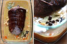 Svíčková na smetaně - dokonalý recept krok za krokem Steak, Beef, Food, Meat, Essen, Steaks, Meals, Yemek, Eten